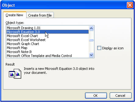 Inserting Equations in Microsoft Word - Office Articles