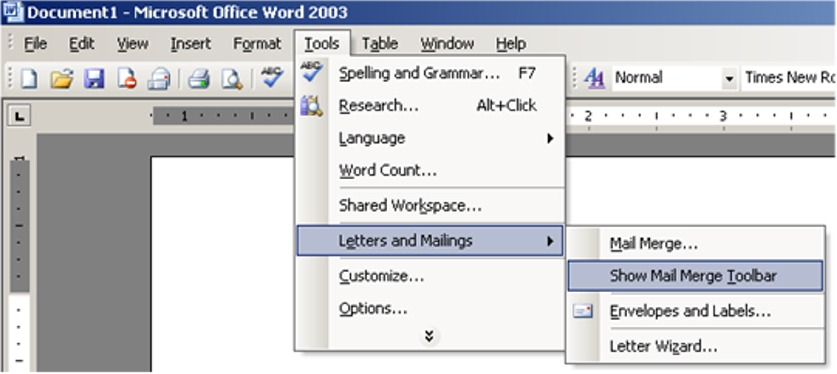 Mail Merge Labels In Microsoft Word Office Articles