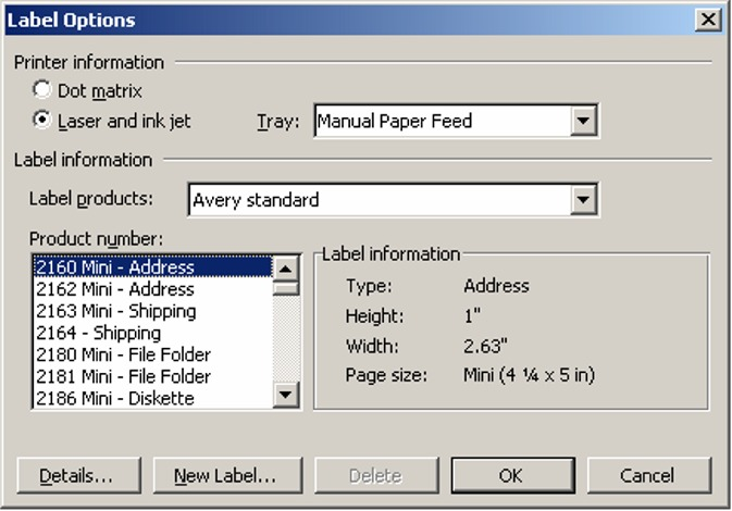 Mail Merge Labels in Microsoft Word - Office Articles