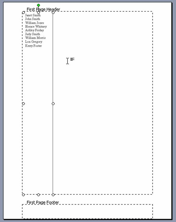 create a partners letterhead template in microsoft word office